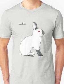 Himalayan Agouti (Chinchilla) Rabbit Unisex T-Shirt