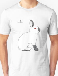 Himalayan Agouti (Chinchilla) Rabbit Unisex T-Shirt