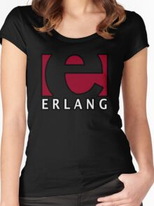 erlang programming language Women's Fitted Scoop T-Shirt