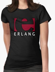 erlang programming language Womens Fitted T-Shirt