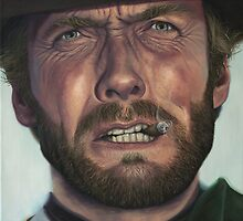 Clint Eastwood- The Man with No Name by smportraits