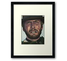 Clint Eastwood- The Man with No Name Framed Print