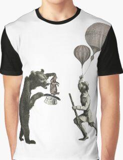 The Magician Bear Graphic T-Shirt