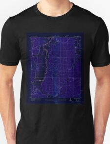 USGS TOPO Map Alabama AL Bishop 303256 1936 24000 Inverted Unisex T-Shirt