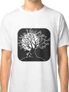 full moon melancholy romanticism tree Classic T-Shirt