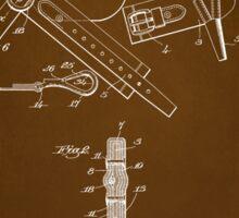 Firefighter Belt Patent 1911 Sticker