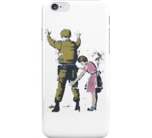 Banksy West Bank  iPhone Case/Skin