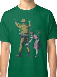 Banksy West Bank  Classic T-Shirt