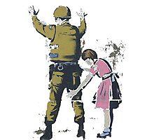 Banksy West Bank  Photographic Print