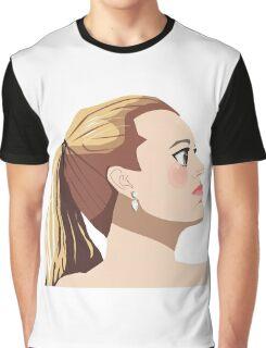 Blake Lively Anime Graphic T-Shirt