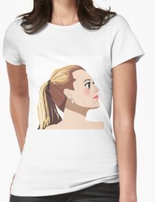 Blake Lively Anime Womens Fitted T-Shirt
