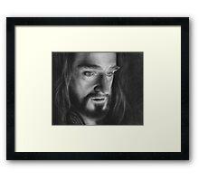 King Under the Mountain Framed Print