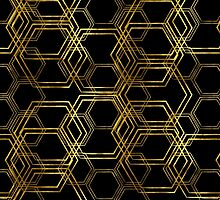 Hexagold Black by Beth Thompson