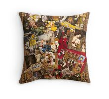 Marlene Detrich, Marilyn Monroe Throw Pillow