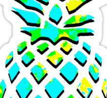Blue Pineapple  Sticker