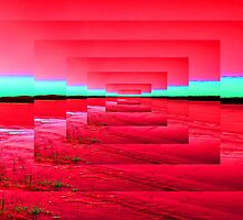 Red Abstract by Icarusismart