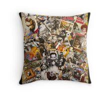 Frank Sinatra, King Kong, Marlene Ditrich Throw Pillow