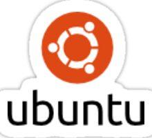 Ubuntu logo sticker Sticker