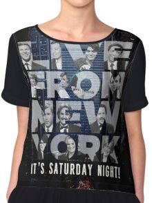 Live From New York, Saturday Night Live Chiffon Top