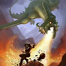 Dragon Attack by Chris-Garrett