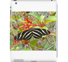 Zebra Longwing  iPad Case/Skin
