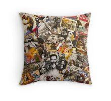 Marlene Detrich, Marilyn Monroe Throw Pillow