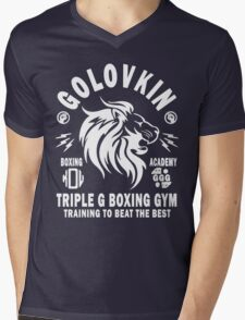 Gennady Golovkin Boxing Gym Mens V-Neck T-Shirt