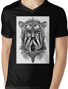 Human Nature - Tigerman Mens V-Neck T-Shirt