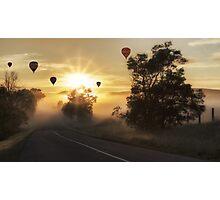 Sky Balloons Photographic Print