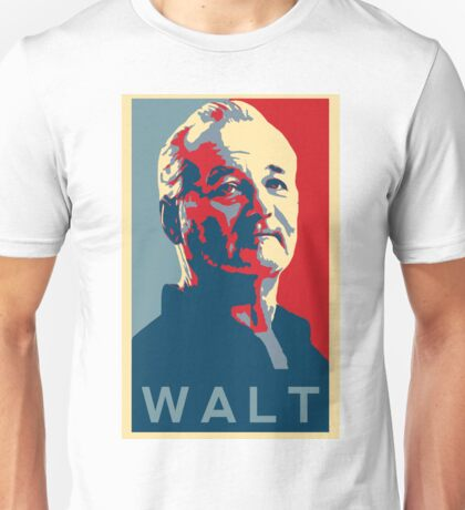 Bill Murray, Walter Gunderson, Parks and Rec Unisex T-Shirt