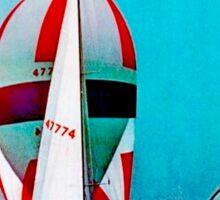 """""""TWA"""" Fly to San Diego Travel Print Sticker"""