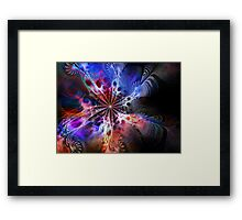 Vibrational Reality Framed Print