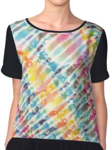 So Very Psychedelic About Us Chiffon Top