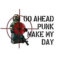 Go ahead punk, make my day! Photographic Print