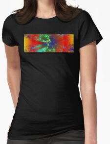 Vivid Nature Womens Fitted T-Shirt