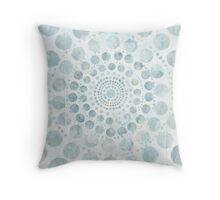 watercolour mandala /Agat/ Throw Pillow