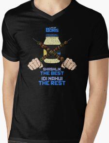 Shashlik the best! Mens V-Neck T-Shirt