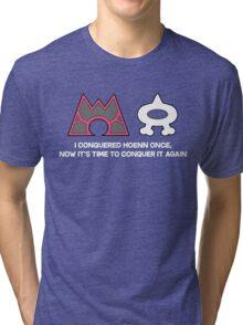 Pokemon Hoenn Remakes Confirmed Tri-blend T-Shirt