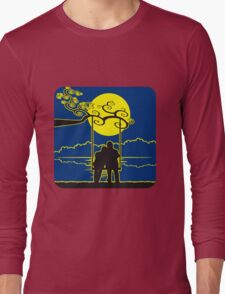 full moon liebespaar rocking Long Sleeve T-Shirt