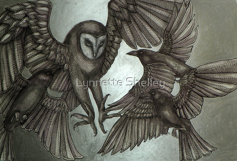 A Murder of Crows by Lynnette Shelley