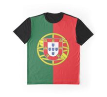 Portugal Flag Graphic T-Shirt