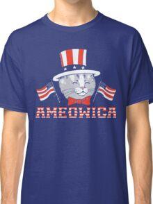 America Cat Classic T-Shirt