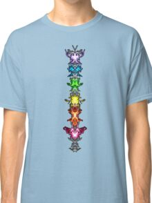 Fractal Art - Chakras - Energy Centers Classic T-Shirt