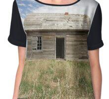 House on a Hill 2  Chiffon Top