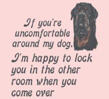 If You Are Uncomfortable Around My Dog Kids Clothes