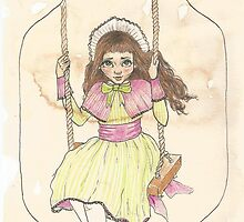 Victorian Child 'Lottie' by Eleanor Ruby Jones