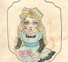 Victorian Child 'Flossie' by Eleanor Ruby Jones