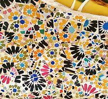 Gaudi Mosaic by BURNING-BRIGHT