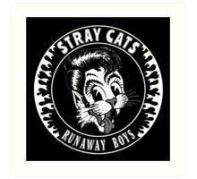 Stray Cats  (Runaway Boys) Art Print