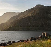 El Capitan Reservoir, San Diego, California, 8 by heatherfriedman